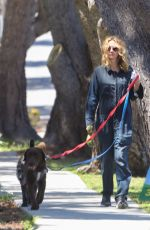 JULIA ROBERTS Out with Her Dogs in Malibu 04/22/2020
