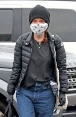JULIANNE MOORE Wearing Mask Out in New York 04/21/2020