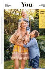 KAROLINA KURKOVA in Parents Magazine, May 2020