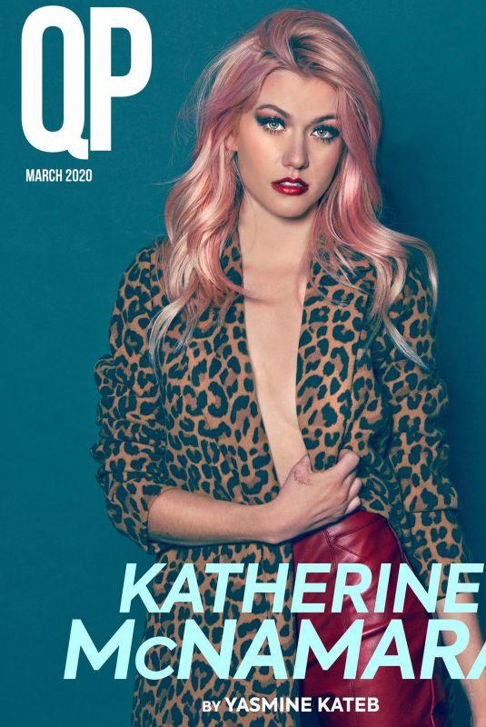KATHERINE MCNAMARA for QO Magazine, March 2020