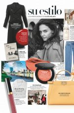 KATIE HOLMES in Instyle Magazine, Spain May 2020