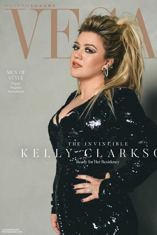 KELLY CLARKSON in Vegas Magazine, April 2020