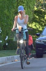 KELLY ROHRBACH Out Riding Bike in Brentwood 04/22/2020