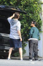 KOURTNEY KARDASHIAN and Scott Disick Reunite in Los Angeles 04/19/2020