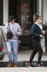 LANA DEL REY Wearing a Mask Out and About in Los Angeles 04/10/2020