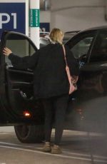 LARA BINGLE Arrives at a Medical Building in Los Angeles 04/08/2020