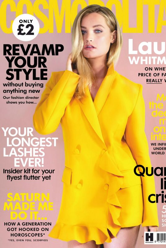 LAURA WHITMORE in Cosmopolitan Magazine, UK June 2020