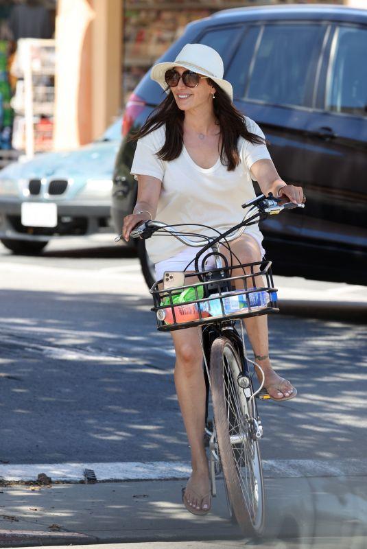 LAUREN SILVERMAN Out for Bike Ride in Malibu 04/23/2020