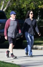 MADELEINE STOWE and Brian Benben Out in Beverly Hills 04/03/2020