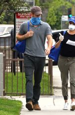 MEGHAN MARKLE and Prince Harry Wearing Masks Out in Los Angeles 04/17/2020