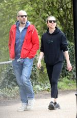 MELANIE CHISHOLM and Joe Marshall Out in London 04/07/2020