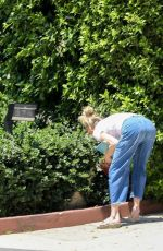 MELANIE GRIFFITH Look at Her Landscaping Out in Los Angeles 04/27/2020