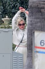 MELANIE GRIFFITH Out and About in Los Angeles 04/04/2020