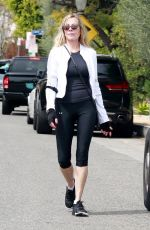 MELANIE GRIFFITH Out Hiking in Los Angeles 03/31/2020