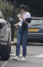 MICHELLE DOCKERY Out and About in London 04/06/2020