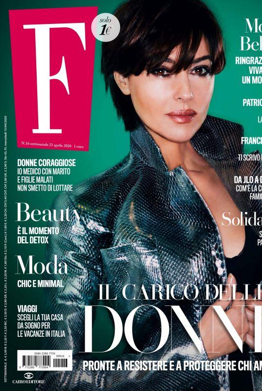 MONICA BELLUCCI in F Magazine, April 2020