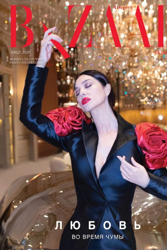 MONICA BELLUCCI in Harper's Bazaar Magazine, Kazakhstan April 2020