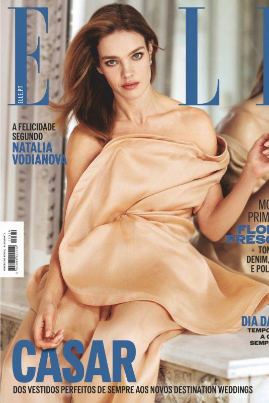 NATALIA VODIANOVA in Elle Magazine, Portugal May 2020