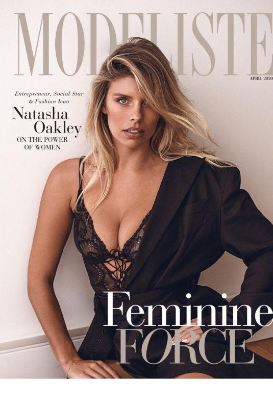 NATASHA OAKLEY in Modeliste Magazine, April 2020