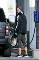 NICOLE MURPHY at a Gas Station in West Hollywood 04/08/2020