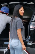 NICOLE SCHERZINGER in Denim Out in Los Angeles 04/20/2020