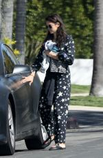 NINA DOBREV Out and About in Los Angeles 04/03/2020
