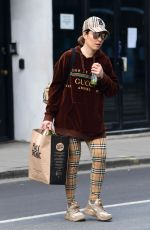 NOOMI RAPACE Out Shopping at Planet Organic in London 04/09/2020