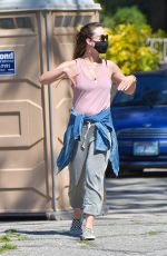 OLIVIA WILDE Out and About in Santa Monica 04/14/2020