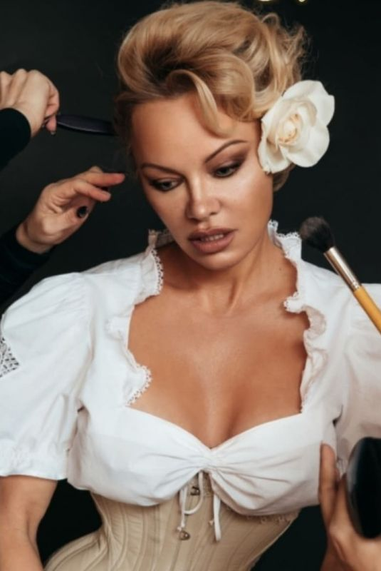 PAMELA ANDERSON at a Photoshoot, April 2020