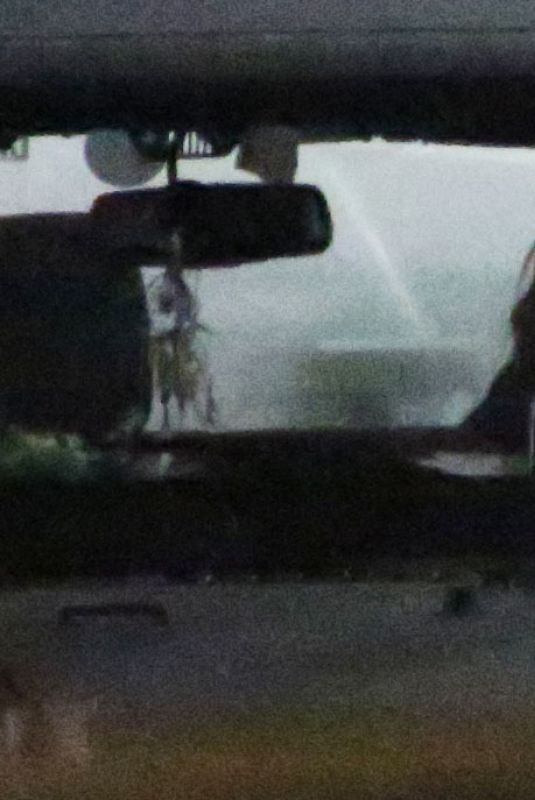 PARIS JACKSON Enjoys a Cigarette in Her Jeep Out in Los Angeles 04/27/2020