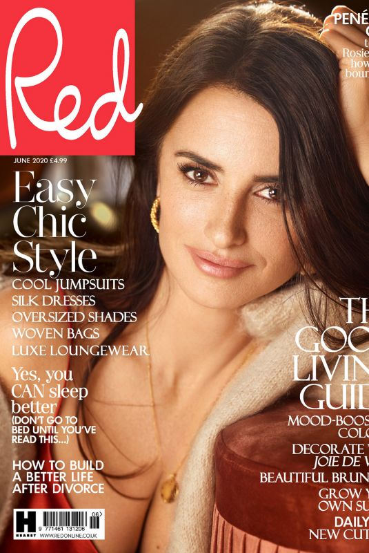 PENELOPE CRUZ in Red Magazine, UK June 2020