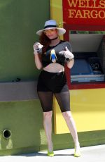PHOEBE PRICE at ATM in Los Angeles 04/24/2020