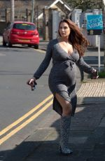 Pregnant CHLOE GOODMAN Heading to Her Final Hospital Check-up 04/22/2020