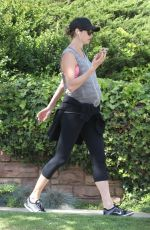 Pregnant STACY KEIBLER Out and About in Beverly Hills 04/02/2020