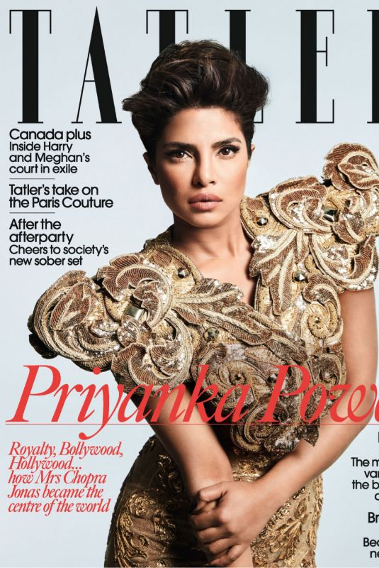 PRIYANKA CHOPRA in Tatler Magazine, UK May 2020