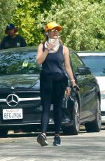 REESE WITHERSPOON Out Jogging in Brentwood 03/31/2020