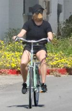 REESE WITHERSPOON Out Riding Bike in Malibu 04/25/2020