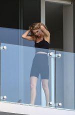 ROOSMARIJN DE KOK on Her Balcony 03/31/2020