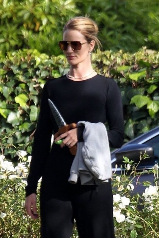 ROSIE HUNTINGTON-WHITELEY Out and About in Beverly Hills 04/20/2020