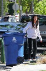 SARA SAMPAIO Get Trash Bins Back to Her Home in Los Angeles 04/23/2020