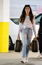 SARA SAMPAIO Out Shopping in Los Angeles 04/01/2020