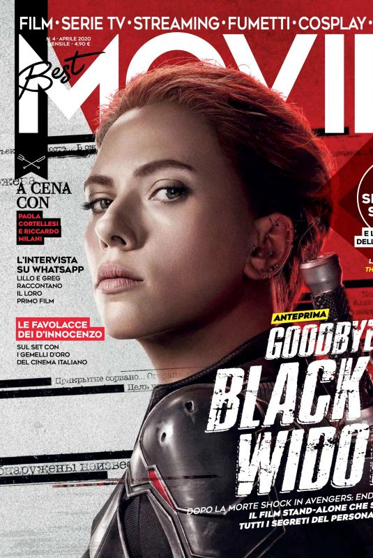 SCARLETT JOHANSSON in Best Movie Magazine, Italy April 2020