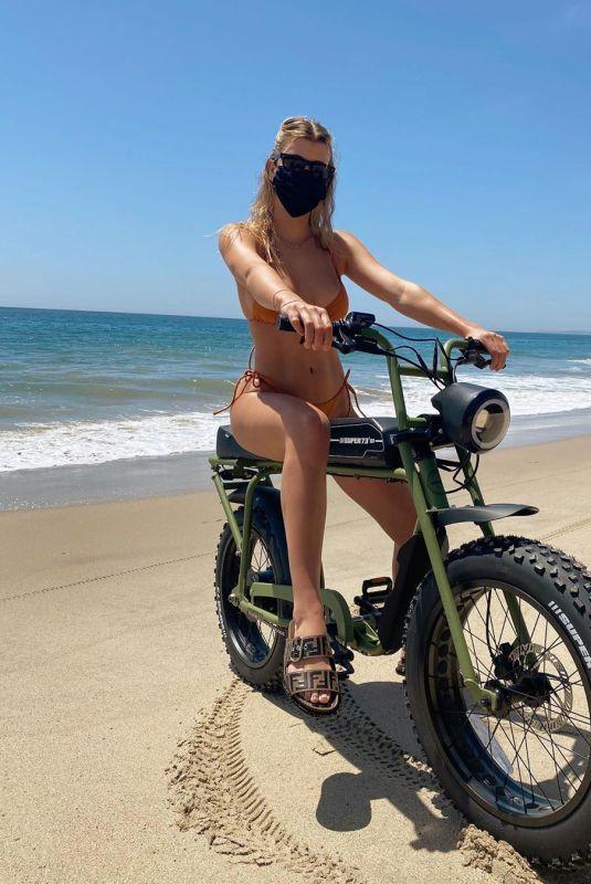 SOFIA RICHIE in Bikini at a Bike – Instagram Photo 04/25/2020