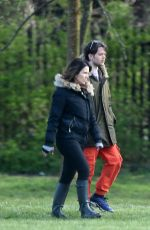 SUSANNA REID Out Hiking in London 04/03/2020