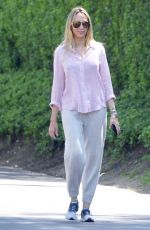 TISH CYRUS Out and About in Studio City 04/01/2020