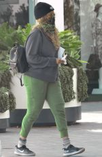 TYRA BANKS Wearing Bandana Mask Out in Los Angeles 04/08/2020
