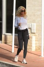 VICTORIA SILVSTEDT Out and About in Monaco 04/07/2020