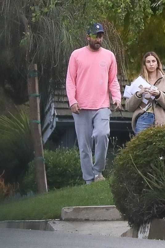 WHITNEY PORT and Tim Rosenman Outside Her Home in Beverly Hills 04/10/2020