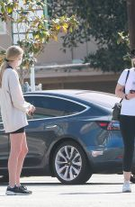 ABBY CHAMPION and CHRISTINA SCHWARZENEGGER Out in Brentwood 05/06/2020