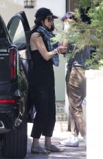 ABIGAIL SPENCER Out in Los Angeles 05/01/2020